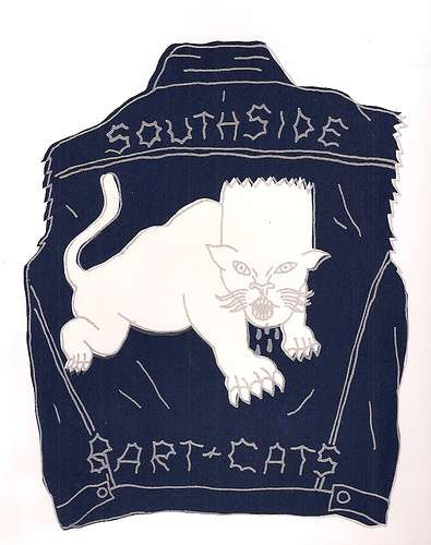 Bart Cats Patch