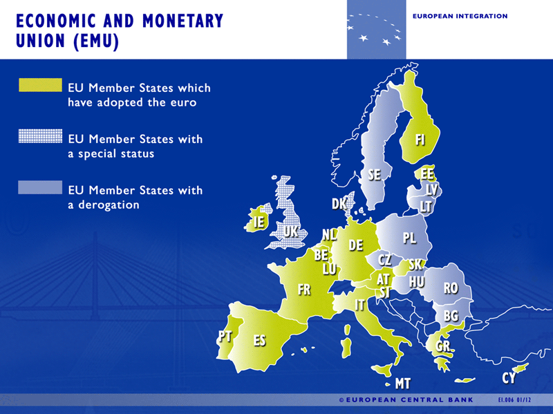 European Monetary Union countries