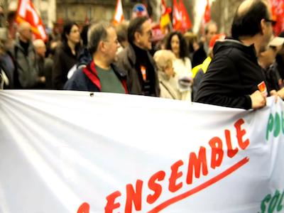 French Labor Strike