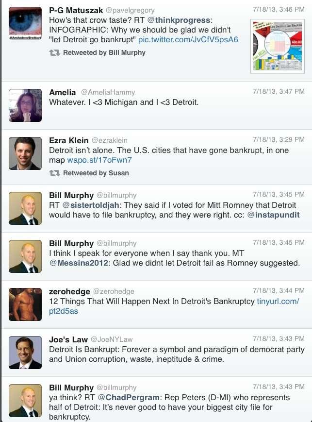 Various Comments