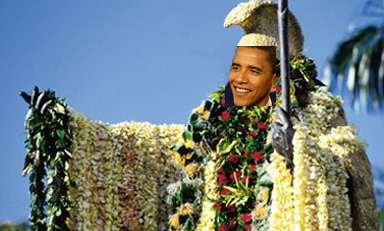 King KamehameObama The President Wants to Cut Hawai'i Loose
