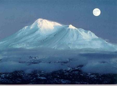 Mount Shasta, California en route to Oregon