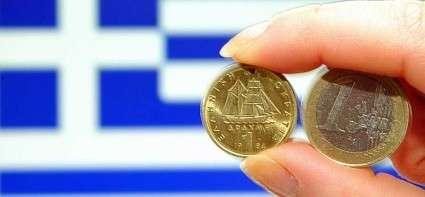 Drachma and Euro