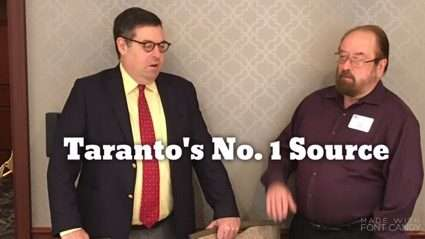 James Taranto With Your Humble Correspondent Andrea Widburg on Brexit