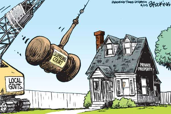 So much for property rights Another Nail in the Coffin of Property Rights