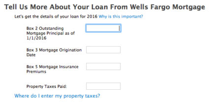 TurboTax new mortgage interst questions Complexity Hides Corruption in the US Tax Code