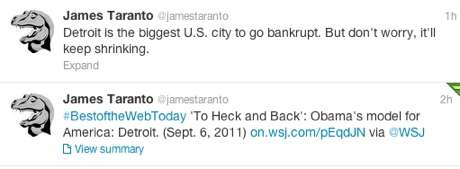 James Taranto Remembers the Obama Campaign, But Not Fondly