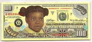 J.S.G. Boggs's $100 bill features Harriet Tubman