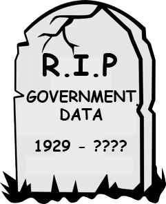 RIP, government data