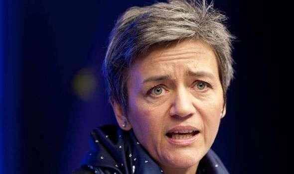 Margrethe Vestager EIREXIT